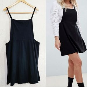 ASOS Curve Overall Dress Black 16